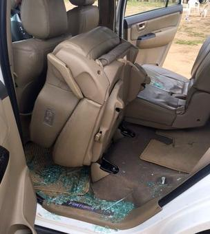 Rahul car attack: HM says Cong VP did not follow security instructions