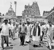 Union Ministers visit Hampi
