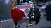 Nigel Farage receives 'honorary knighthood' live on TV