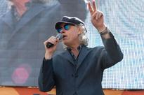 Bob Geldof tells the March for Europe crowd that Farage, Gove and Johnson 'robbed young of their future'