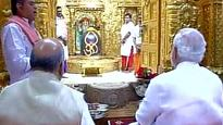 PM Modi offers prayers at Somnath Temple, pays tribute to Sardar Patel
