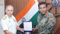 Maldives defence chief arrives on two-day visit