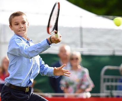 Beckham Junior to take up tennis?