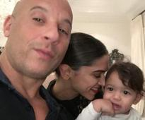 Vin Diesel shares adorable picture of Deepika with his daughter
