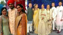 Sonam Kapoor, beau Anand Ahuja have a gala time at Mohit Marwah's wedding, see pics and videos