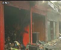 J&K: Shops, banks, post office gutted in Srinagar inferno