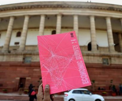 Economic Survey breaks stereotype, goes pink; evokes poets, Bollywood