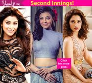 Shriya Saran, Tamannaah Bhatia, Kajal Aggarwal- 5 South actresses who got a second chance in Bollywood!