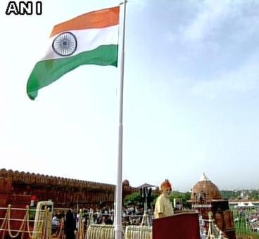 Kashmir won't be solved by 'gaali' or goli: Modi @ Red Fort