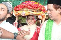 Spotted: Urmila Matondkar at Ajmer Sharif Dargah