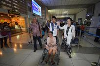 LOOK: Elderly couple in 'tanim-bala' controversy leaves for the US