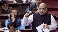 Watch: In debut RS speech, aggresive Amit Shah answers critics on GST, Namocare and Pakoda jibe