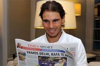 I am a very good loser, Nadal tells TOI