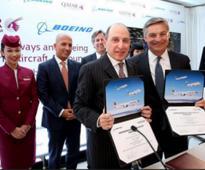 Qatar Airways Orders 40 Planes from Boeing