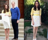 Look-alike has spent $3,000 to copy Kate's clothes