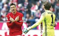 Lewandowski leads Bayern to new rout against Hamburg