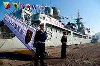 China unveils new naval ship