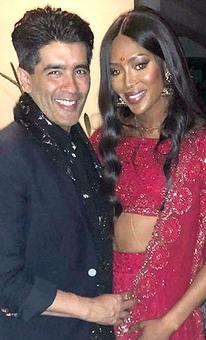 Party pics: Naomi Campbell & Manish Malhotra get together!