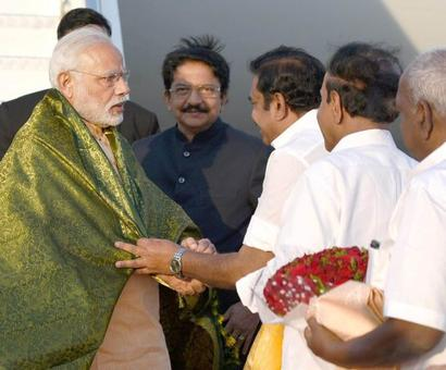 500 people arrested for protesting PM's visit to Coimbatore