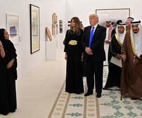 Trump Slammed Michelle Obama For Not Covering Hair In Saudi Arabia, But...