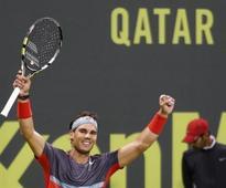 Nadal beats Monfils to win Qatar title