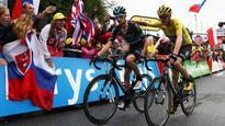 'Never a quiet day': Chris Froome crashes but keeps yellow jersey