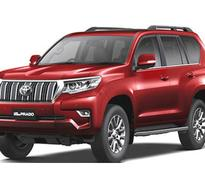Toyota Launches Land Cruiser Prado in India at Rs 92.6 lakh