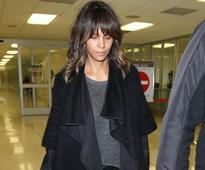 With open arms: Halle Berry just shared this seriously sexy selfie to mark her 50th