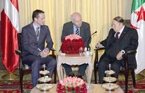 Audience : President Bouteflika receives Danish FM