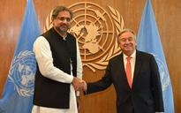 Pakistan, at UN, accuses India of 'war crimes', seeks special envoy for Kashmir