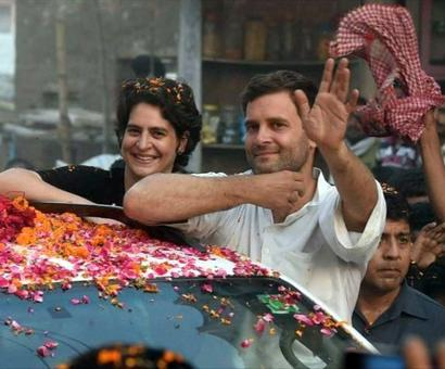 Priyanka reviews UP poll strategy, fuels speculation