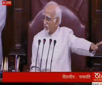 Live: Rajya Sabha discusses Kashmir situation