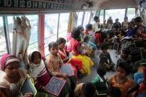 School children visit Yamuna Bio-diversity Park