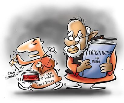 How will the Hindutva hardliners handle Sabka Saath...