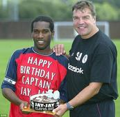 Jay Jay Okocha: Former Super Eagles midfielder tips England coach, Sam Allardyce for success