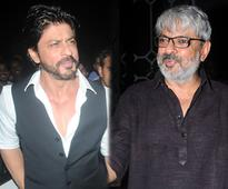 Shah Rukh Khan-Sanjay Leela Bhansali may team up, but not for Padmavati