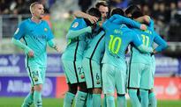 Messi and Suarez help Barca to down Eibar, Sevilla stage fightback