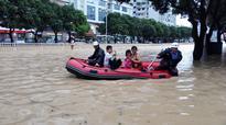 Typhoon Triggers Massive Landslide In Chinese Village