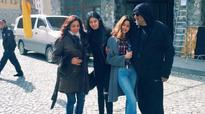 Jhanvi, Khushi tag along as parents Sridevi and Boney fly off to Georgia for film