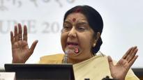 Missing Indians in Iraq probaly in jail in Badush: Sushma Swaraj
