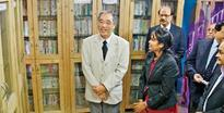Consul General of Japan opens Japanese Library
