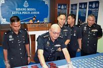 Two men nabbed for trafficking drugs