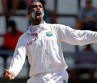 West Indies - 381/8; Zimbabwe - 175; 2nd Test, Roseau, Dominica
