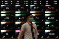Asia stocks wary, dollar slips before Fed Chair Yellen's speech