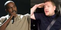 Kanye West has pulled out of Carpool Karaoke twice but James Corden hasn't lost hope