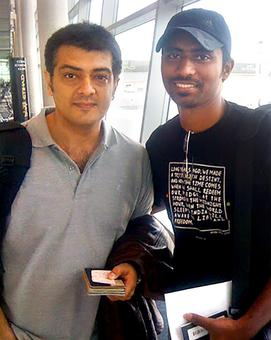 Spotted: Ajith in Abhu Dhabi