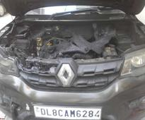 Renault Kwid Catches Fire; Owner Baffled By Official Reply