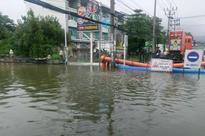 Samui soaked, power out on Phangan