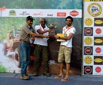 Rally Legend Jagat Nanjapa Wins The Force Gurkha RFC South India 2016
