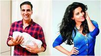 Akshay Kumar visits Asin's newly born daughter
